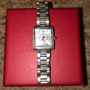 ANNE KLEIN Genuine Diamond Watch